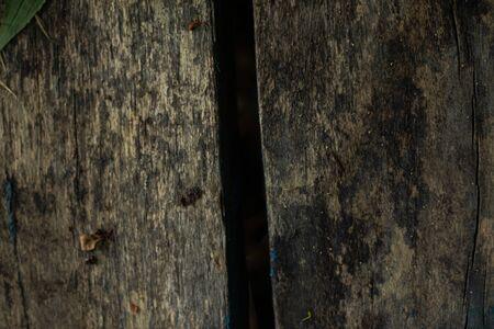 dirty wooden board as a closeup background Foto de archivo - 150126637