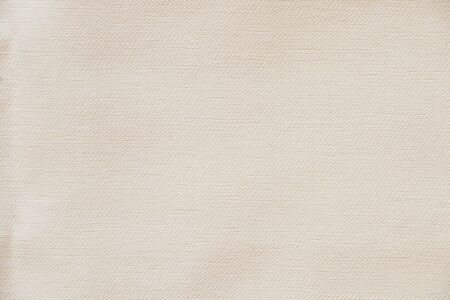 white plain cotton fabric as background close up
