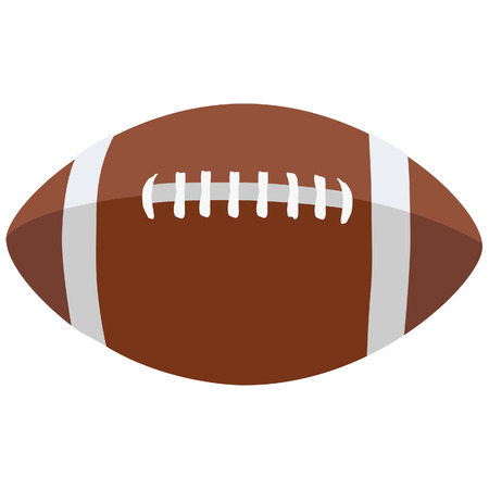 footballs: American football ball, football ball Illustration
