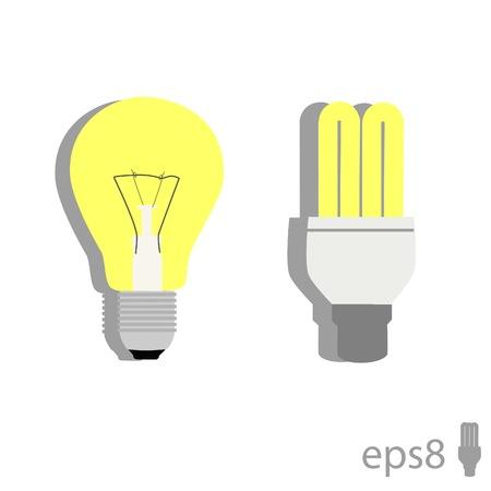bulb icon: Illustration of  light bulb, light, idea, lamp, bulb icon, idea bulb Illustration