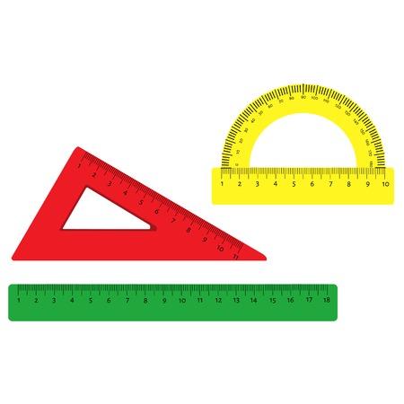 ruler: Illustration  of  tape measure, measure, scale, ruler icon, ruler measure