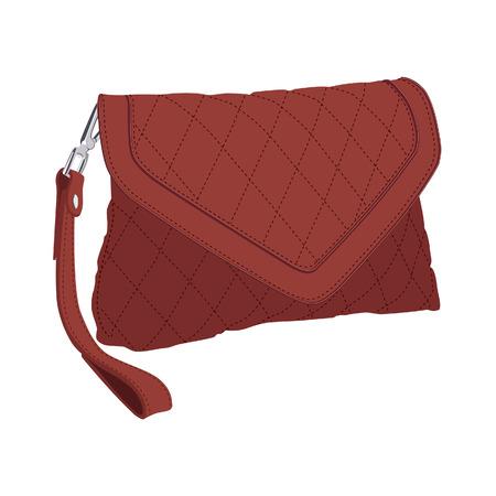 clutch cover: Clutch bag, clutch purse, clutch ba isolated