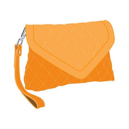 clutch cover: Clutch bag, clutch purse, clutch bag isolated Illustration