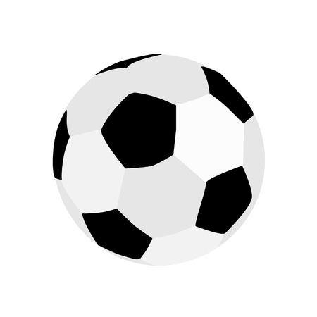soccer game: Football ball, football ball isolated