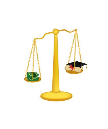 fairness: Gold libra, libra isolated, libra vector