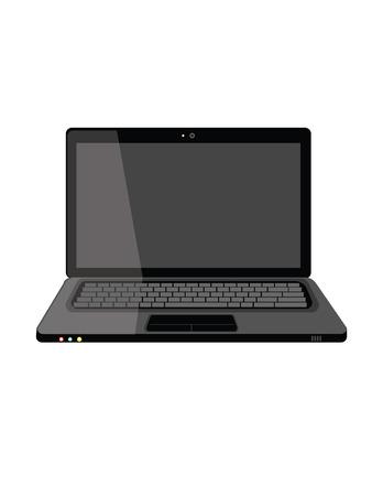 Illustration of laptop,  computer,  laptop isolated, laptop icon,  laptop screen 일러스트