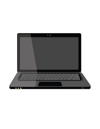 Illustration of laptop,  computer,  laptop isolated, laptop icon,  laptop screen Vectores
