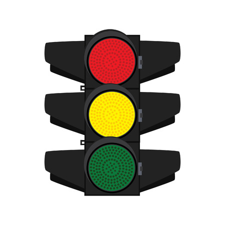 street signs: Traffic, traffic signs, traffic signal, traffic light isolated