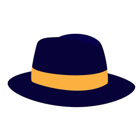fedora: Fedora hat, fedora hat vector, fedora hat isolated, hat, cap