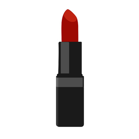 sexy nude women: Lipstick, lipstick vector, lipstick isolated cosmetc, red lipstick Illustration