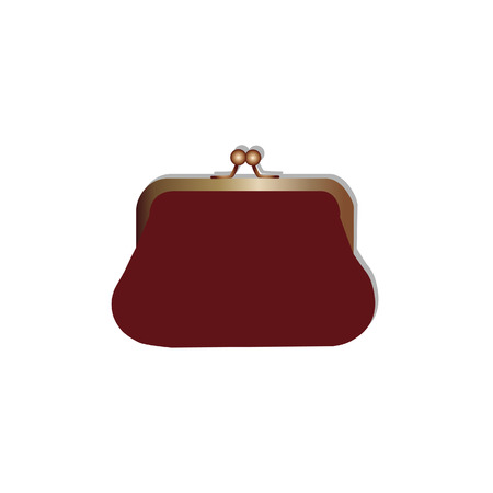 purse: Woman purse, purse vector, purse isolated, girl purse