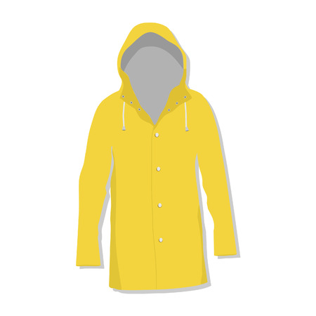 slicker: Rain coat, rain jacket, rain coat isolated, raincoat