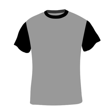 camicia bianca: Illustrazione di t-shirt, abiti, camicia uomo, polo, camicia bianca, modello di camicia Vettoriali