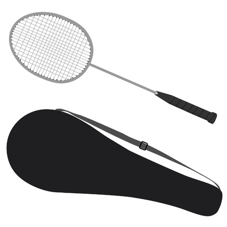 badminton racket: Badminton racket, badminton case, badminton cover, sport equipment