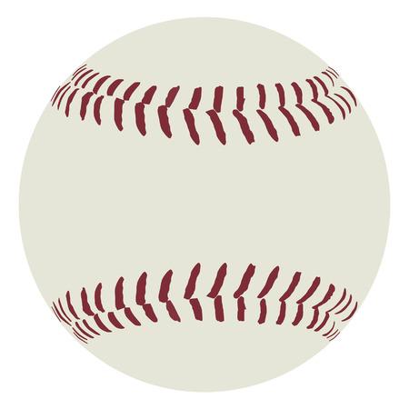 pelota de beisbol: Bola del b�isbol, bola del b�isbol del vector, el material de deporte