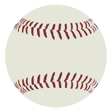 Baseball ball, baseball ball vector, sport equipment