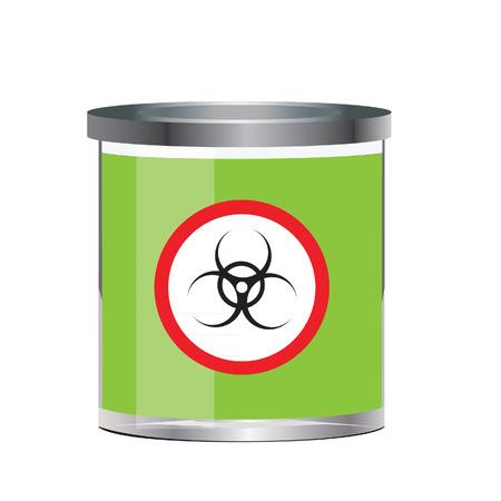 poison sign: Poison, dangerous, bio-hazard, bottle vector, bio-hazard sign Illustration