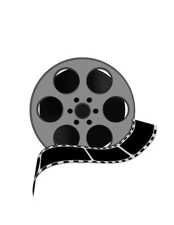 cine: Filmstrip, illustration of cinefilm, filmstrip vector, film roll, cinematography, cinefilm vector