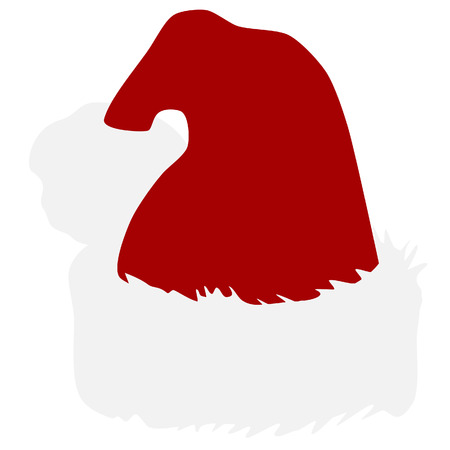 red hat: Santa hat, christmas hat, christmas hat isolated, santa hat isolated