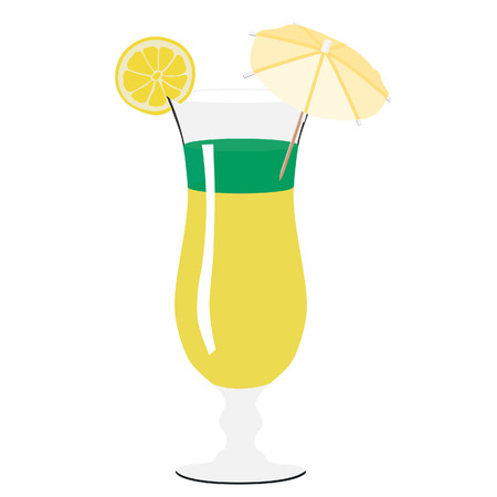 verre de jus d orange: Illustration de verre à cocktail, cocktail, cocktails boissons, verre à boire