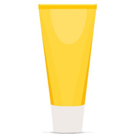 aftershave: Cream tube, medical cream, cream isolated, cream vector, topical cream