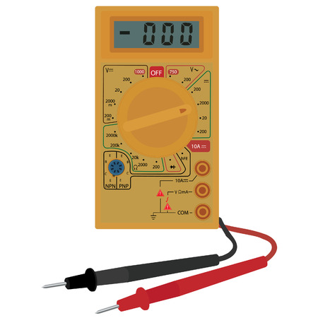 Digital electric multimeter, equipment, digital multimeter, measurement