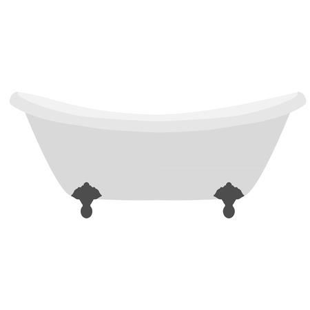 soap suds: White clean bath vector isolated, bathwater, bathroom