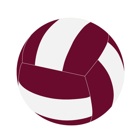 voleibol: Balón de voleibol, bola de voleibol vector Vectores