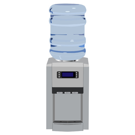 Water cooler, office water cooler, water dispenser, water bottle Reklamní fotografie - 40215855