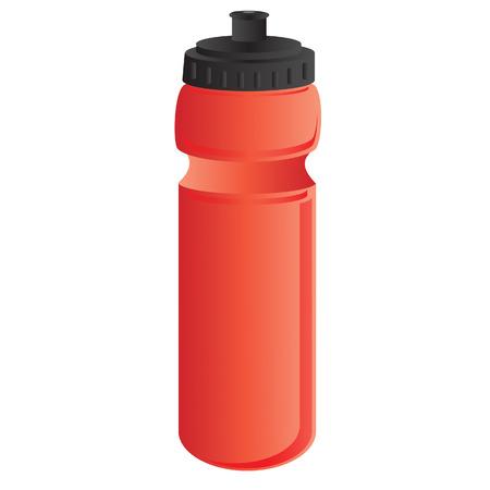Sports water bottle, water bottle, drink bottle, bottle vector