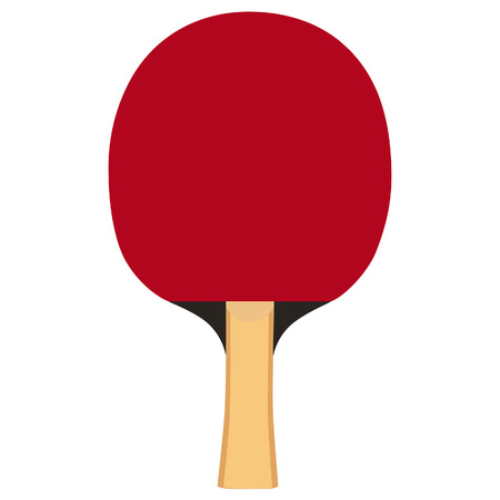 indoor court: Ping pong paddle, table tennis racket, ping pong paddle vector, ping pong paddle isolated Illustration