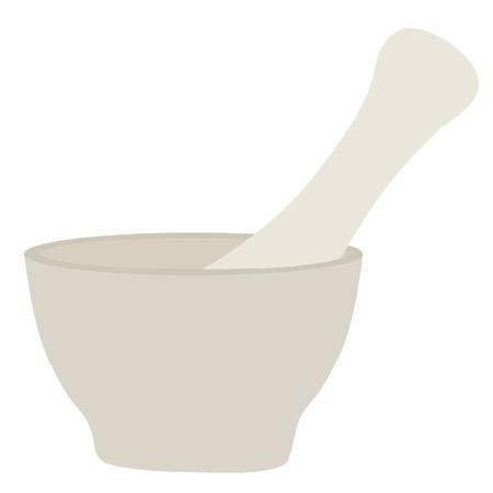 pounder: Kitchen pounder, pounder isolated, porcelain pounder, kitchenware