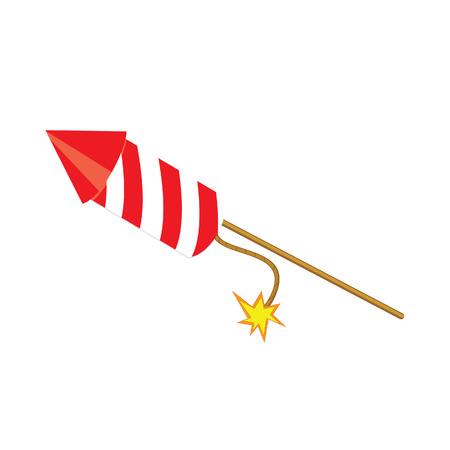 Petardo rojo, confeti, petardo, del petardo del vector, vector petardo