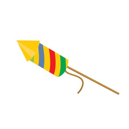 petard: Coloured petard , confetti, firecracker, firecracker vector, petard vector Illustration