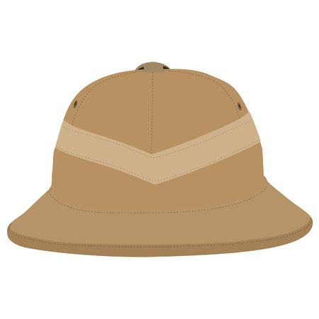 사파리 모자, 헬멧, 사파리 모자 격리, headware 일러스트