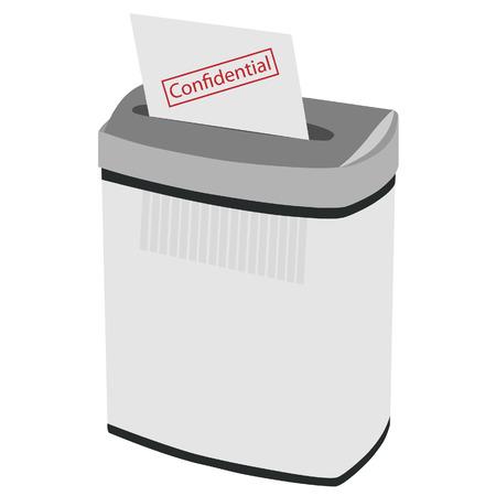 paper shredder: Shredder, paper shredder, document shredder, paper vector, shredder icon