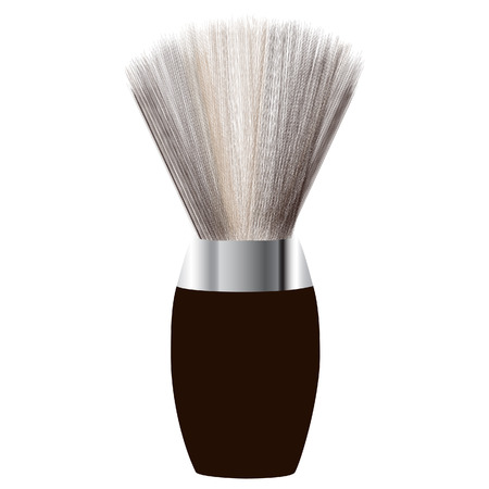 shaving brush: Shave brush, shaving brush vector, shaving brush icon