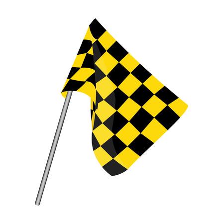 finish flag: Start flag, checkered flag, finish flag, racing flag
