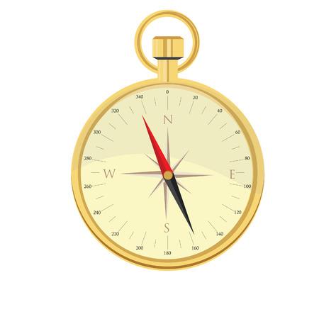 brujula: Vector Brújula, icono de brújula, rosa de los vientos, la navegación