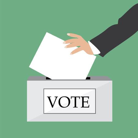 voting box: