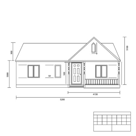 House plan vector illustration. Building plans. Architect plans