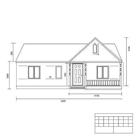 plan maison: Vecteur plan de Maison illustration. Les plans de construction. Plans d'architecte