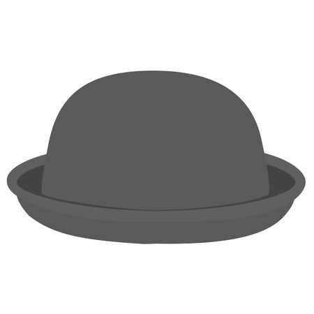 bowler hat: Grey woman bowler hat. Derby hat. Fashion, glamour winter hat