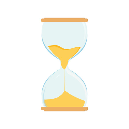 sand watch: Hourglass vector icon. Sand watch. Sand glass. Sand clock