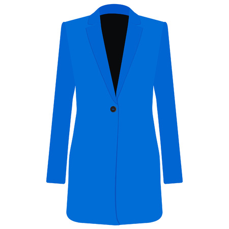 the trench: Trench coat, trench coat vector, trench coat isolated, blue coat