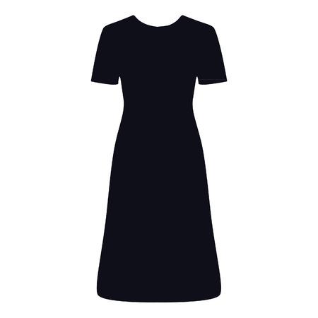 coctail: Litttle black dress, coctail dress, black dress, silhouette Stock Photo