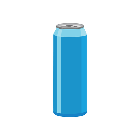 aluminium can: Illustration of aluminum can, soda can, beer can