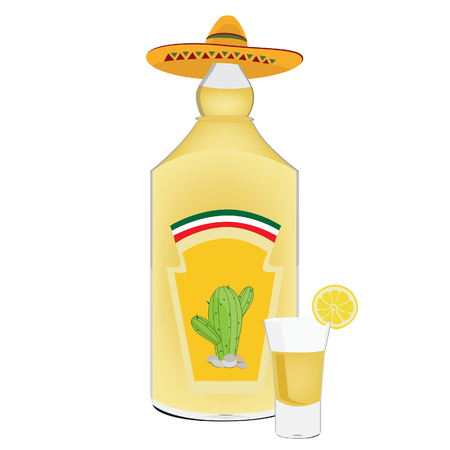 tequila: Tequila bottle, tequila shot, shots alcohol, cactus, mexican