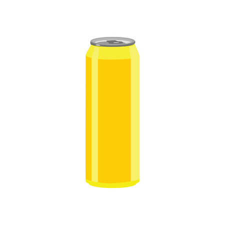 soda can: Illustration of aluminum can, soda can, beer can
