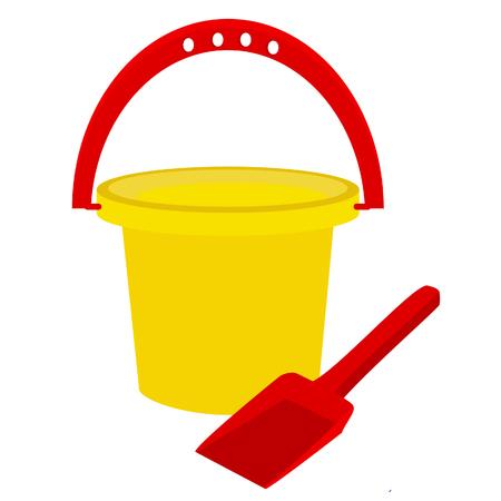 beach toys: Beach toys, sand shovel, sand toys, baby bucket